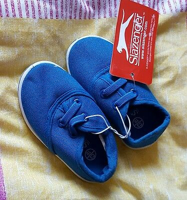 Blue Baby Shoes Size 3 Brand New