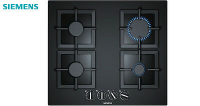Siemens EP616PB21E Built-in Kitchen Gas Hob Black Tempered Glass Brand New !!!