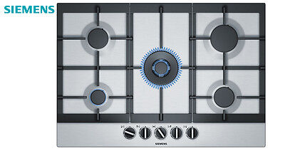 BOSCH PCQ 715M90E  Build In Brushed Steel Kitchen Gas Hob WOK Burner Brand New !