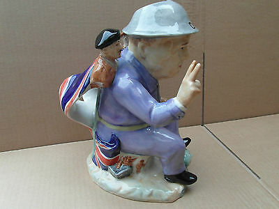 Kevin Francis Churchill Overlord CAB57 toby jug special one off artists proof