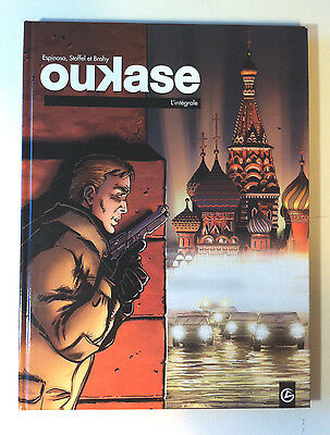 BD OUKASE l'Intégrale - Espinosa, Stoffel et Brahy / GRAND ANGLE