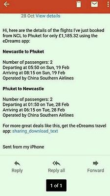 two flights to phucket 600 if gone this weekend