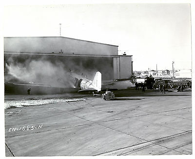 1950's RCAF KT-587 Douglas C-47 Accident Original Photo Royal Canadian Air Force