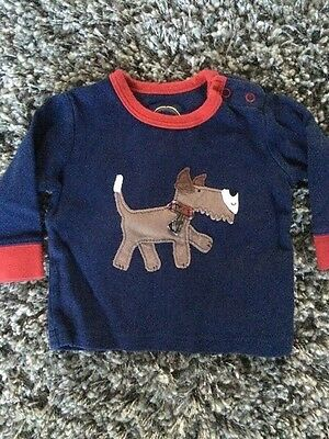 joules baby boys top 3-6 m