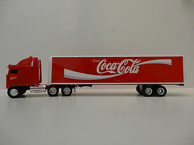 Die Cast Coca - Cola Tractor Trailer 1:64 Scale From Ertl Nib Only One On Ebay.