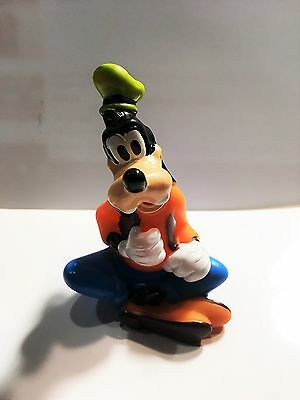 A Cute Disney's Goofy 3.5 Inches Tall Made With Rubber