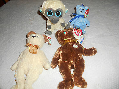 BUNDLE OF TY BEARS COLLECTABLES(reduced)
