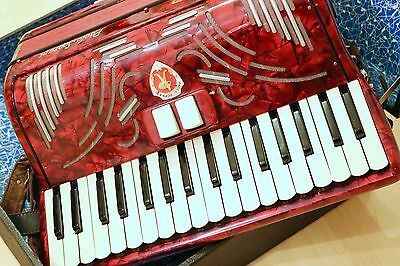Early 1960's Paolo Soprani Junior III Accordion (Purchased in East Germany)