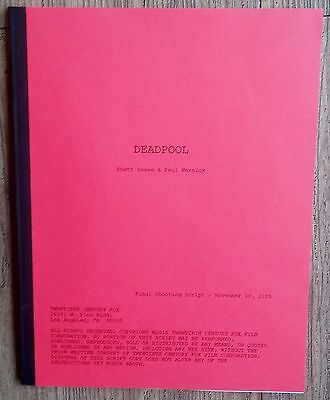 DEADPOOL Movie FYC Screenplay For Your Consideration Promo