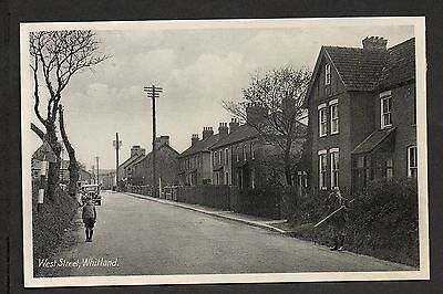 Whitland - West Street - printed photographic postcard