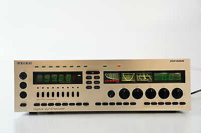 Siemens RS555 Vintage Stereo Receiver Digital Synthesizer Steuergerät