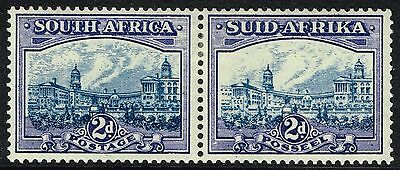 SG 58 SOUTH AFRICA 1938 - 2d BLUE & VIOLET - MOUNTED MINT