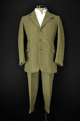 "Bespoke West End Tailored Tweed Shooting Hunting Suit 40"" Reg 3 Button Breeks"