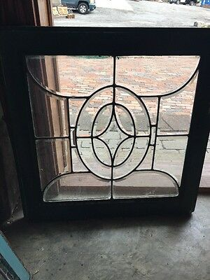 Sg 916 Antique All Beveled Glass Window