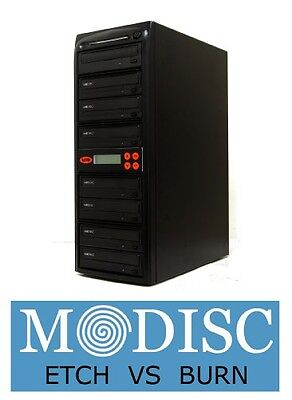 Systor Systems Systor 1 to 7 M-Disc 24X CD / DVD Multi Target Duplicator Tower
