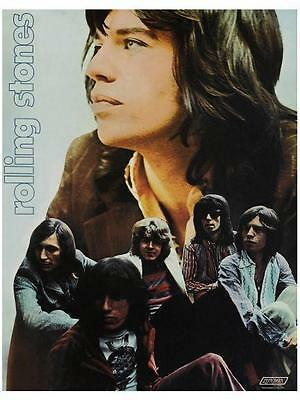 Rolling Stones POSTER Print  *AMAZING IMAGE*  Sexy Mick Jagger Rock N Roll 70's