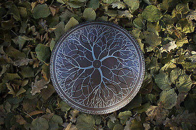 "GUDA Freezbee ""Tree"", Steel Tongue Drum with Rope Decoration"