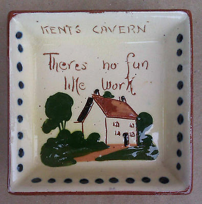 KENT'S CAVERN TORQUAY -  PIN or TRINKET DISH - WATCOMBE STUDIO POTTERY
