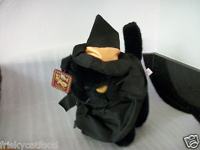 Halloween dressed Black CAT by Show Time. tm