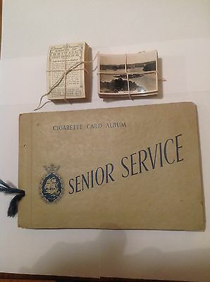 Senior Service cigarette cards- Sights Of Britain I, II &III