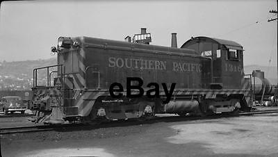 SOUTHERN PACIFIC No. 1316 Diesel at Los Angeles in 1948 Orig Negative