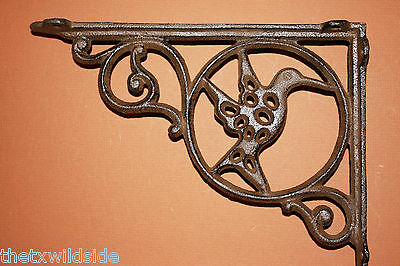 (10), Shelf Brackets,victorian Decor,corbels, Garden Decor,humming Birds, B-24