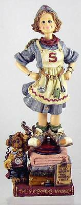 Boyds Bears Folkstone Angel DOMESTICA Whirlwind Super Mom- Does It All Everyday!