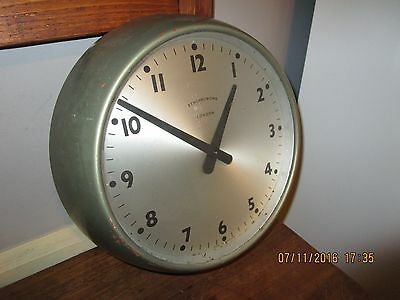 Vintage Synchronome  Wall clock  - 9 in. Synchronome School / Office Clock