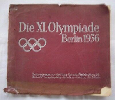 Orig.Sticker Album   Olympic Games BERLIN 1936 / 192 Sticker - Complete ! RARITY