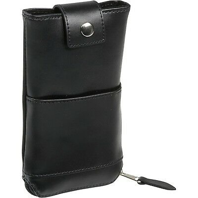 Royce Leather Double Eyeglass Case 600-6,Black
