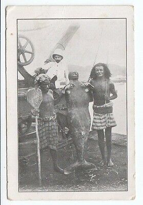 Postcard. The Mermaid. Aden, Arabia. Unusual. Can be seen at the Grand Hotel