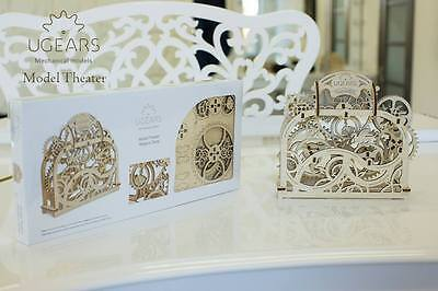 UGEARS - THEATRE - UGEARS 3D Mechanical Wooden Model & Puzzle for self assembly