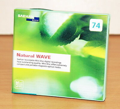 minidisc SAEHAN MD 74 Natural WAVE  new&sealed
