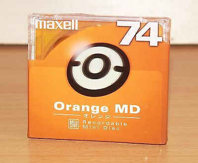 minidisc MAXELL MD 74ORF new&sealed