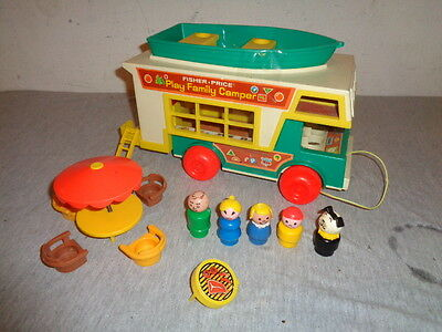 Fisher Price Little People Play Family Camper