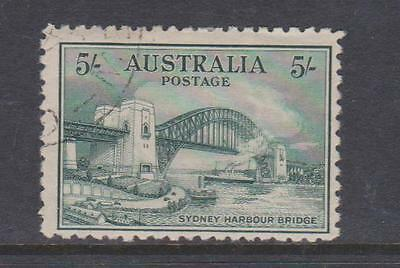 AUSTRALIA 1932 5s HARBOUR BRIDGE USED