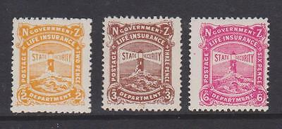 New Zealand 1944/47 Postage Due Values Mounted Mint