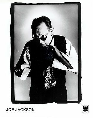 Joe Jackson, THREE official 8x10 press photos! CLASSIC record company portraits!