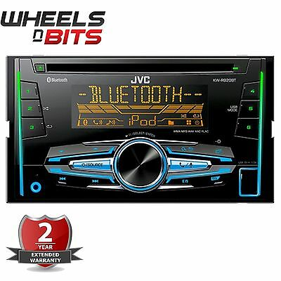 JVC KW-R920BT Double 2 DIN CD MP3 USB CAR Stereo iPod With Bluetooth