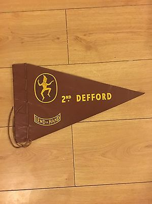Girl Guide Leather Flag