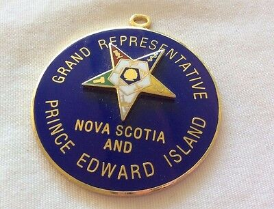nova scotia fraternal order medallion