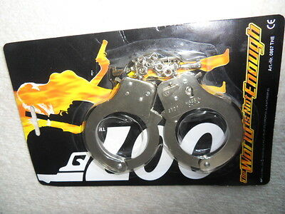 James Bond Handcuffs The World Is Not Enough 1992 UNOPENED