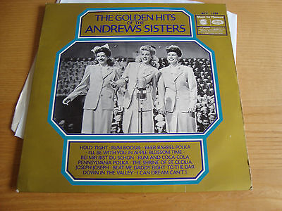 ANDREW SISTERS 'THE GOLDEN HITS OF' - LP 1961 MFP /Ex+
