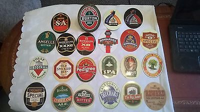 Pump Clip with 22 different interchangeable Ale/Bitter Fronts/Badges