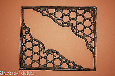 (4),honey Comb,shelf Brackets,corbels,library,victorian Decor,country Decor,b-21