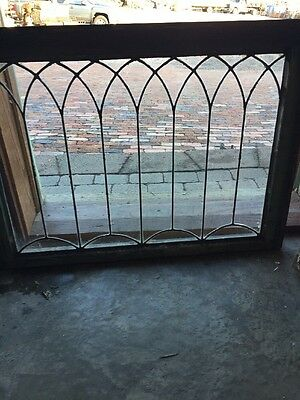 Sg 941 Antique Gothic Design Leaded Window