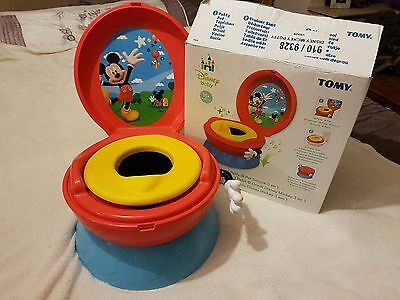 TOMY First Years Disney Mickey Mouse Potty System With Box