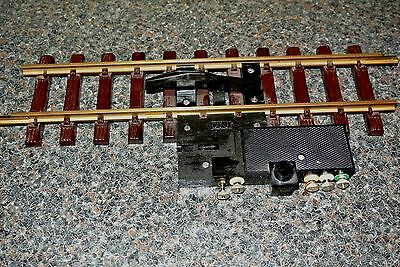 LGB  UNCOUPLING TRACK No 1055 G SCALE MADE IN W GERMANY + 300mm TRACK