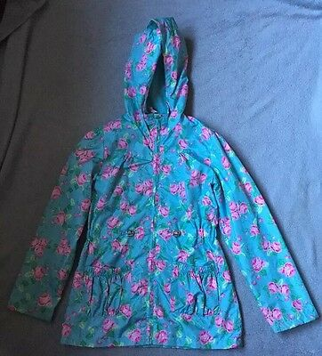 Girls  BNWOT Floral Raincoat Age 9/10 by MISS E-VIE