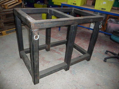 Heavy Duty Industrial Workshop Welding Bench Table Base Machine Stand